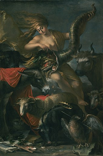 Allegory of Fortune, 1658, Louvre Salvator Rosa (Italian) - Allegory of Fortune - Google Art Project.jpg