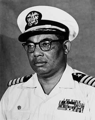 Samuel L. Gravely Jr. - Samuel Gravely, United States Navy photograph circa 1970.