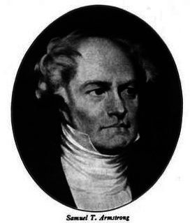 Samuel Turell Armstrong American printer and politician