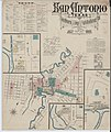 Sanborn Fire Insurance Map from San Antonio, Bexar County, Texas. LOC sanborn08740 001-1.jpg