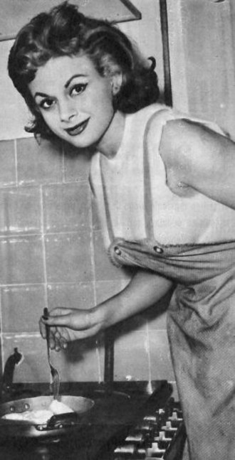 Sandra Milo - Image: Sandra Milo 1956