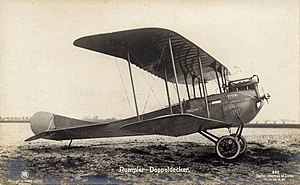 Sanke card - Rumpler C.I on Sanke card