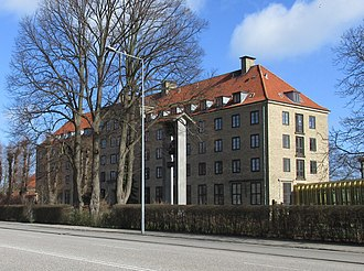 Sankt Lukas Stiftelsen - The main building at Bernstorffsvej 20