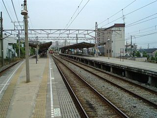 Sanyo Suma Station Railway station in Kobe, Japan