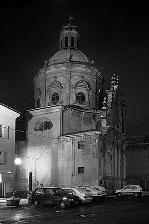 Our Lady of Graces - The Baroque church of Santa Maria delle Grazie in Casale Monferrato, Piedmont, Italy