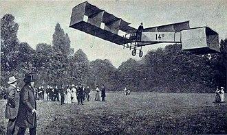 Canard (aeronautics) - The 1906 Santos-Dumont 14-bis