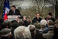 Sarre-Union allocution Joël Mergui François Hollande René Gutman profanation cimetière juif 17 février 2015.jpg