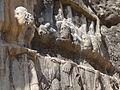 Sassanian Bas-Relief Bishapur Iran.jpg