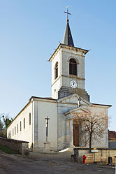 The church in Saulx-le-Duc