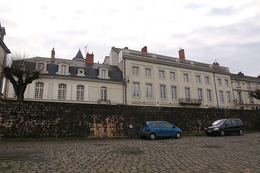 Hôtel Jamet à Saumur.