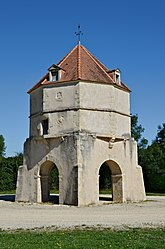 Dovecote tower of the Royal Post