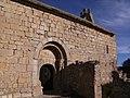 Savella - Iglesia de Sant Pere (Vista con la Portada).jpg