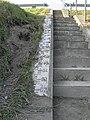 Scala ed idrometro sull'argine sinistro Adige (2) (Boara Pisani).jpg