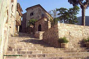 Celle di Bulgheria - Image: Scalinata di Celle di Bulgheria