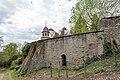 Scheinfeld, Schwarzenberg, Besfestigungsmauer östlich des Glockenturms 20170423 002.jpg