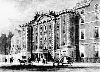 Coade stone - Schomberg House circa 1850