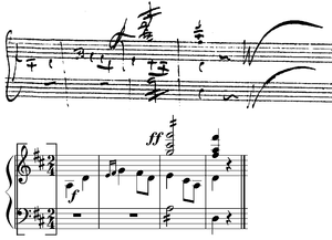 Symphony No. 10 (Schubert) - Image: Schubert Symph 10 3rd mov