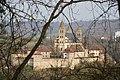 Schwäbisch Hall - Comburg - Ansicht vom Tullauer Steigle 02.jpg