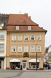 Geburtshaus Friedrich Rückerts in Schweinfurt (Quelle: Wikimedia)