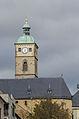 Schweinfurt, Turm von St. Johannis vom Marktplatz gesehen-001.jpg