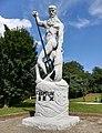 Sculpture in Wagrowiec (lake) (Neptun).jpg