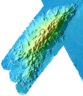 Davidson Seamount Underwater volcano off the coast of Central California, southwest of Monterey