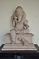 Seated Four-handed Ganesha - Circa 13th Century CE - Etah - ACCN 95-17 - Government Museum - Mathura 2013-02-22 4714.JPG