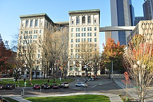 City Hall Park & King County Courthouse