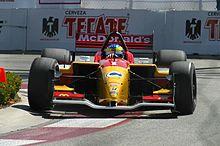 Bourdais a Long Beach nel 2005, anno in cui vinse il suo secondo titolo
