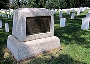 Second Massachusetts Infantry Memorial at Culpeper National Cemetery