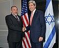 Secretary Kerry Meets With Israeli Foreign Minister Lieberman (12976468783).jpg