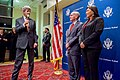 Secretary Kerry Thanks Ambassador McKinley During Address of U.S. Embassy Kabul Staff and Families (26270178911).jpg