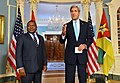Secretary Kerry and Mozambique President Filipe Jacinto Nyusi Address Reporters After a Meeting in Washington (29678029675).jpg