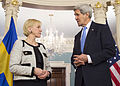 Secretary Kerry and Swedish Foreign Minister Wallstrom Address Reporters.jpg