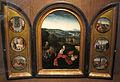 Seguace di joachim patinir, trittico con riposo dalla fuga in egitto, 1500-1550 ca. 01.JPG