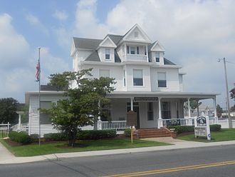 Selbyville, Delaware - Selbyville Library, July 2012
