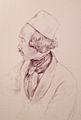 Self portrait of Raden Saleh in pencil.jpg