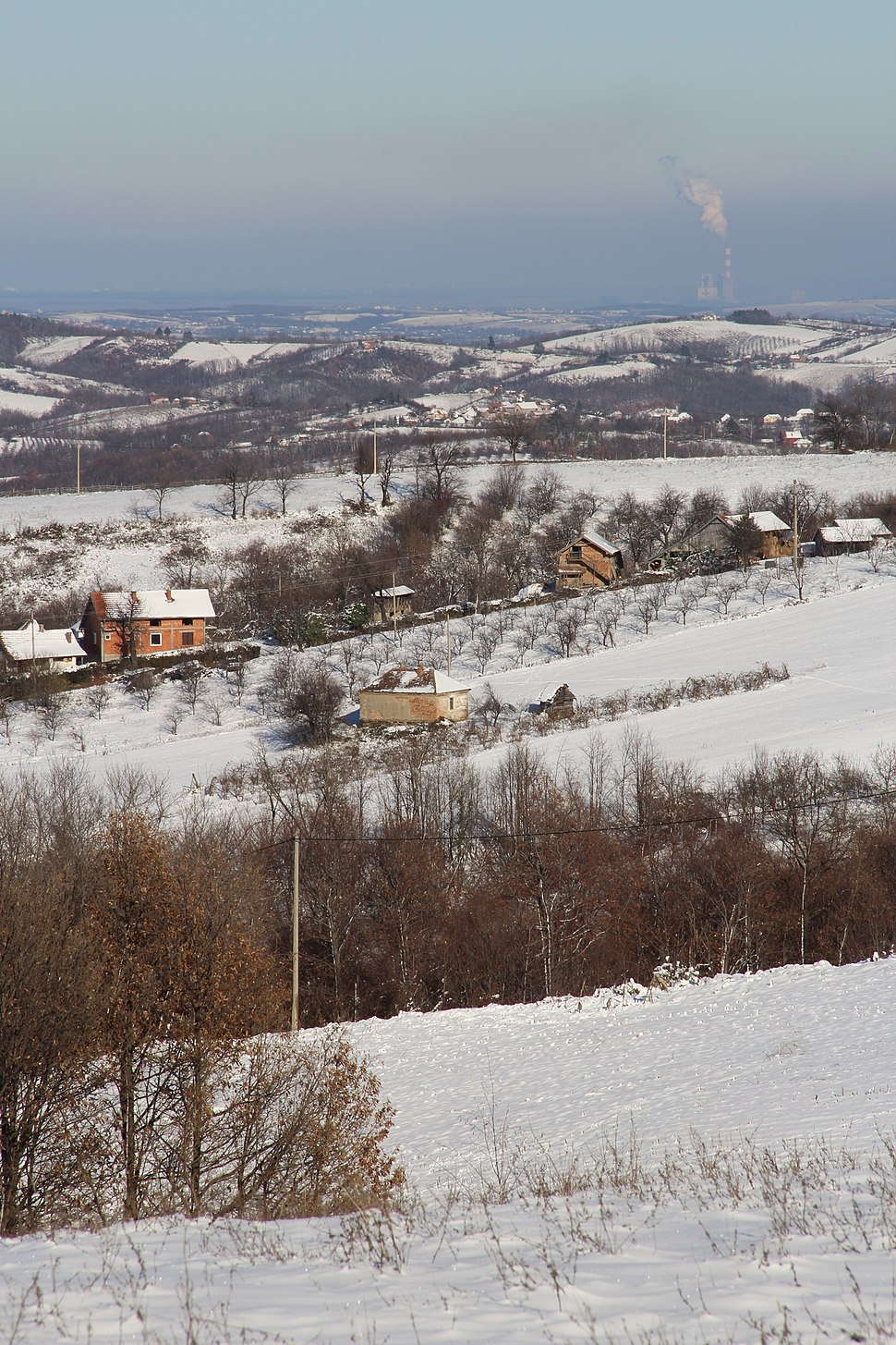 Selo Ogladjenovac - opština Valjevo - zapadna Srbija - panorama 17