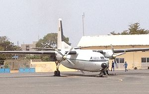 Senegalese Air Force - A Senegalese Fokker 27