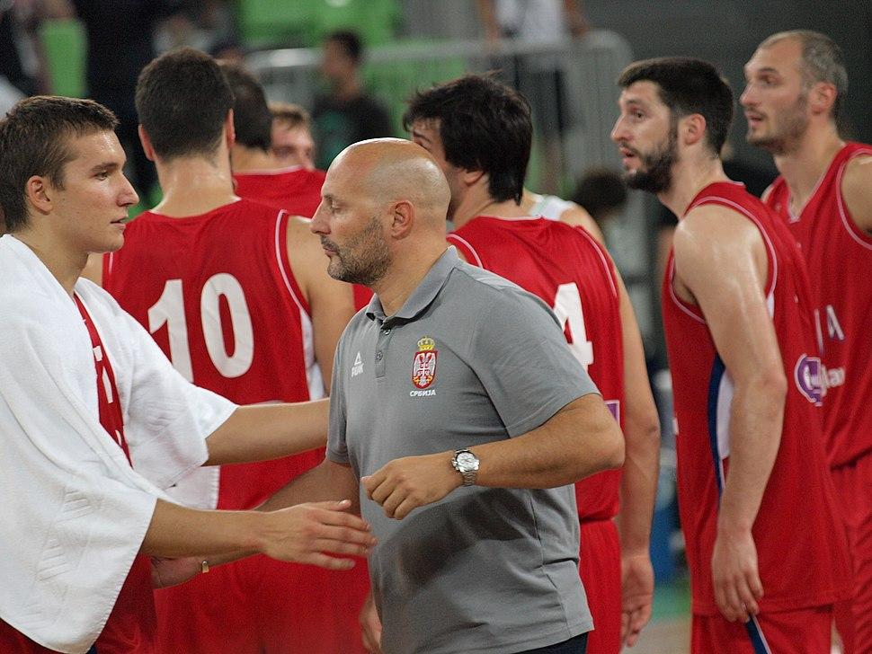 Serbia men's national basketball team and coach Aleksandar Đorđević