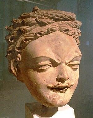 Serindian art - Image: Serindian Head 2