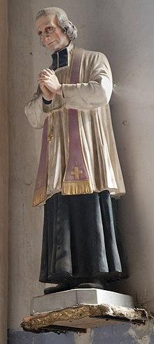 Statua votiva dedicata a Giovanni Maria Vianney