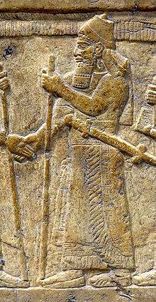 Shalmaneser III (reliefdetalje) .jpg