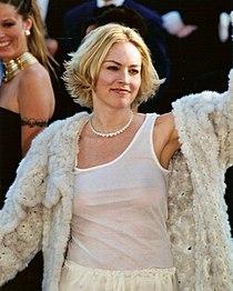 Sharon Stone al Festival di Cannes 2002