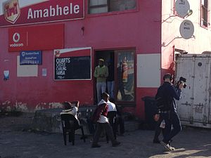 Shebeen - Shebeen in Joe Slovo Park, Cape Town