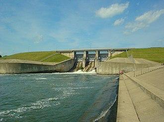Shelbyville, Illinois - The Shelbyville Dam