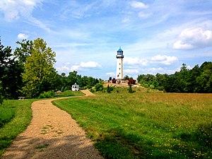 Tionesta, Pennsylvania - The Sherman Memorial Lighthouse.