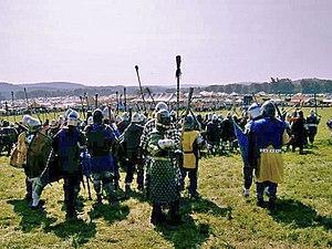 Pennsic War - Field Battle at Pennsic War XXXII