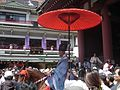 Shinto priest in procession Sanja Matsuri 2006.JPG