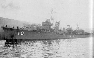 Action of 5 July 1942 - Shiranui
